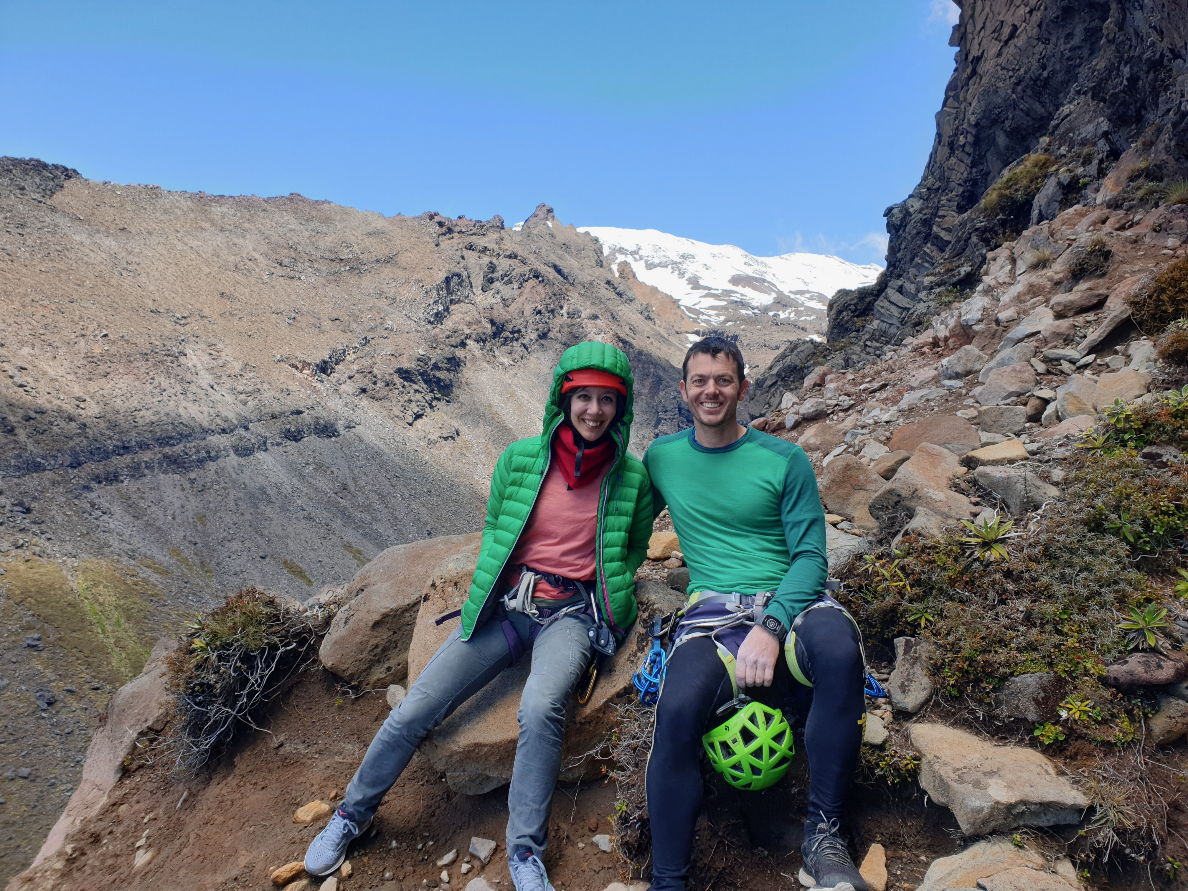 Our first visit to Whakapapa Gorge crag and we love it!